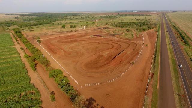 Parque de Eventos Pedro Stradiott já esta na fase final de preparação. Foto Drone Marcelo Lino