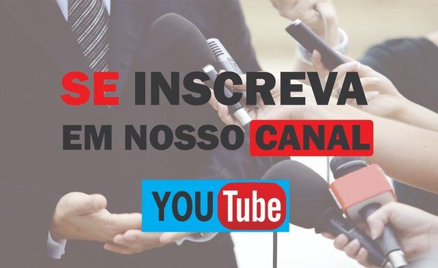 """Se inscreva em Nosso Canal do """"YOUTUBE"""" e acompanhe nossas ... 0867fd7261a32"""
