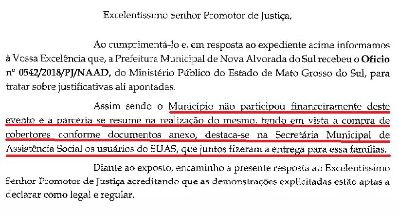 """Feijoada Solidaria"""" é investigada pelo Ministério Público Estadual"""