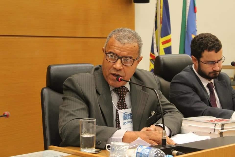 Delegado Elias Pereira no Seminário Regional do Novo Código de Processo Penal. Foto: Leandro Medina