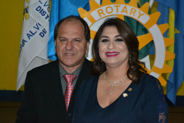 Claudir Luiz Bruneto assume a presidência do Rotary Club